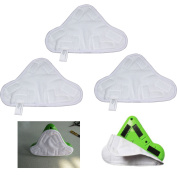 10 X Microfibre Steam Mop Floor Washable Replacement Pads For H2o H20 X545