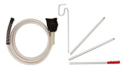 Propress Accessories Drapery Kit With 3 M Hose And Extension Poles For Steamer