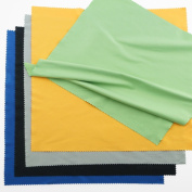 Microfibers Cleaning Cloths - 5 Extra Large Colourful Cloths Suitable For