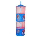Spiderman Blue Fabric 4 Pocket Hanging Childrens Boy Kids Toys Organiser Storage