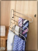 3-tier Swing Out Tie And Belt Rack