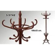Suska Wooden Standing Coat Rack Clasico Suska 1020 – 3574220 – Foot Clasico Coat