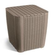 B#allibert Garden Storage Table Box Footstool Extra Seat Waterproof Luzon 223933