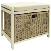 Hamper Storage Bench - Cream. From The Official Argos Shop On