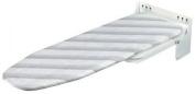 Wall Mount Ironing Board Space Saving 180° Swivel Range Durable Strudy Homeware