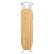 Bonsoni Orange/yellow Stripe White Frame Ironing Board By Protege Homeware