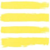 Paint Brush-style Stripes Yellow 3-ply 20 Paper Napkins Serviettes 33x33cm