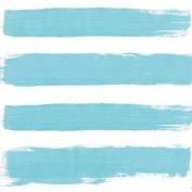 """Paint Brush-style Stripes Blue 3-ply 20 Paper Napkins Serviettes 13""""x13""""–33x33c"""