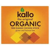 Kallo The Original Organic Free Range Chicken Stock 6 Cubes 66g