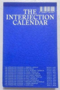 The Interjection Calendar 002