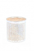 Zenza Silver Plated Brass Filisky Wax Tealight Candle Holder - 9cm Tall