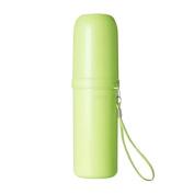 Bodhi2000 Travel Toothbrush Holder Hiking Camping Tooth Brush Case Water Cup