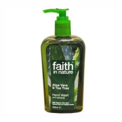 Faith in Nature Aloe Vera/Tea Tree Handwash 300ml X 3