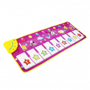 Musical Toys,Piano Mat Zmoon Musical Carpet Baby Toddler Activity Gym Play Mats , Baby Early Education Coolplay Music Singing Piano Keyboard Blanket Touch Play Safety Learn Singing funny Toy for Kids Gift