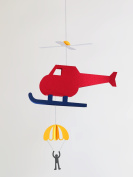 [Pepamo] paper Mobile kit cute paper craft helicopter