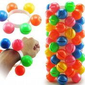 Sound Toys, Bestow 1 pc Kids Children Wrist Band Rattle Colourful Dance Props Toy