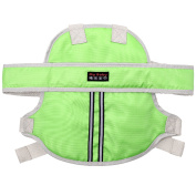 Tough Oxford Cloth Breathable Kids Children Motorcycle Motorbike Safety Belt Strap Harness for 1-12 Year Old Kid Less Than 50kg Green