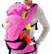 OGTOP Multi-function Baby Strap Two In One Breathable Wind Winter Summer Dual Sitting Lap,Pink