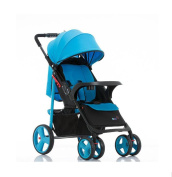 HJXJXJX Baby Stroller, Can Be Sitting Can Be Folded Folding Breathable Baby Stroller