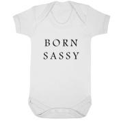 BreadandButterThreads Born Sassy baby vest boys girls