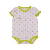JIEYA Baby Girls'1 Piece Ruffle Sleeve Bodysuit Outfits