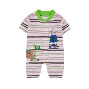 JIEYA Baby Boys Short Sleeve Romper Shortalls
