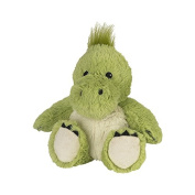 Warmies Cosy Plush Green Dinosaur Fully Microwavable Toy