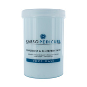 Kaeso Foot Mask, Peppermint And Blueberry Twist, 1200 Ml