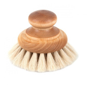 Iris Hantverk Birch Wood Horsehair Bath Body Brush, Duck Or Normal Handle
