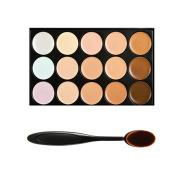 Boolavard Professional 15 Colour Concealer Camouflage Contour Eye Face Cream