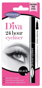 Colorsport Diva 24 Hour Eyeliner, Black