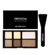 Freedom Makeup London - Pro Strobe And Contour Powder Palette With Brush. Best P