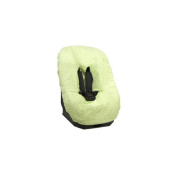 Looping Terrycloth Cover for the car seat 0 +/1, Green