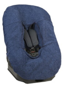 Looping Car Seat Cover Group 0 +/1 (with Hook and loop), Navy Blue