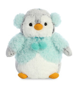 Aurora World 74022 Pompom Penguin Aqua Jacket 23cm