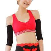Zhhlinyuan Women's Comfortable Tight Compression Shaping Arm Support Pressure Thin Free Slimming Arms