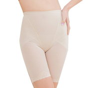 Zhhlinyuan Women's Comfortable Shaping Control Body High Waisted Hip Beautify Safety Pants