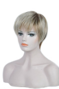 Women Ladies Smooth Sexy Short Wig Natural Looking Wig