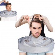 Oyedens DIY Hair Cutting Cloak Umbrella Cape Salon Barber Hairdresser for Salon Home Stylists