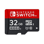MicroSD card 32GB for Nintendo Switch