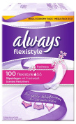 Always Flexistyle Flexible Pantyliners For All Underwear Styles (5 Packs Of