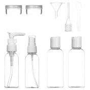 Travel Toiletry Bottles For Makeup Cosmetic, Kyerivs Liquid Containers Leak With