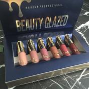 Topbeauty 6pcs/set Makeup Matte Lipstick Lip Kit Gloss Long Lasting Lip Stick