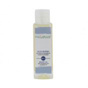 EQUILIBRIUM - COSMESI NATURALE Organic Softening Beard Oil 100 ml with Macadamia Oil and Eucalyptus Oil