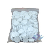 Mini Portable Disposable Skin Care Cotton Beauty DIY Compressed Facial Mask - 100 Pack - White