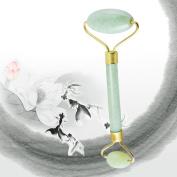 Royal Jade Roller Massager, Goodsmiley Slimming Tool Facial Face Massage-Rejuvenates Face and Neck Skin, Face Slimmer