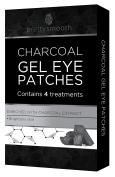 Pretty Smooth Charcoal GEL EYE PATCHES - Anti Wrinkle | 4 Treatments