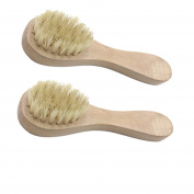 Sichun Facial Cleaning Exfoliate Brush, Facial Skin Care Tool, Pore Cleaner Brush with High Grade Pine Brush Holder and Soft Bristle
