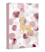 "Six ""christmas"" Advent Calendar 24 Jewellery Surprises Gifts Presents Golden To"