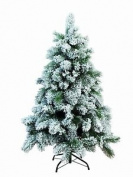 Vancouver Mix Christmas Tree H 180 Cm Snow-effect Green